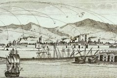 BNE.Barcelona.Montjuic.Bombardeo.1842.detalle